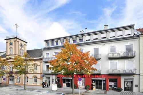 Residieren am Bad Haller Hauptplatz- Zentral mieten mit Lift und zwei Carportplätze!