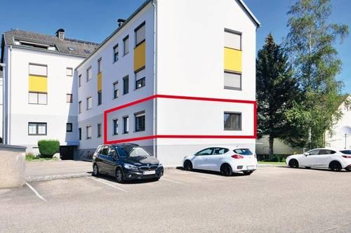 Mietwohnung im Zentrum von Sierning mit Lift, Parkplatz und Gemeinschaftsgarten!