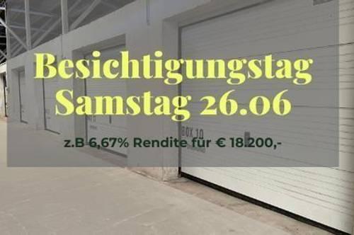 Vermietete Garage mit 6,09 % Rendite für Anleger I Box 18