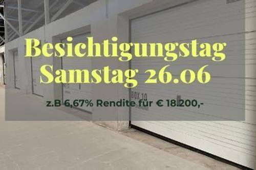 Vermietete Garage mit 5,20 % Rendite für Anleger I Box 16