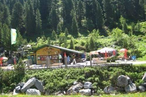 Kiosk im Zillertal