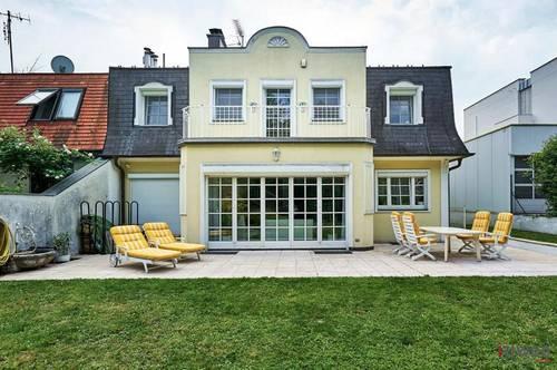 Herrliche Familienvilla mit Eigengarten und Garagen Nähe Lainzer Tiergarten!