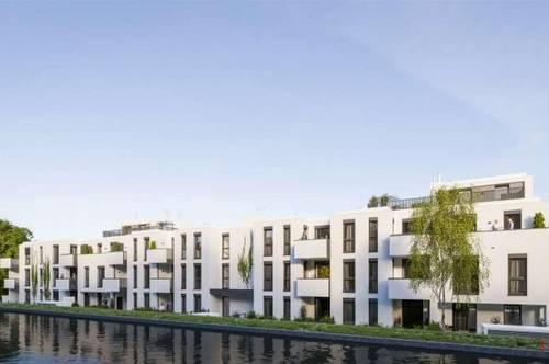 Sonnige und geräumige Familienwohnung auf 3 Ebenen mit hervorragender öffentlicher Verkehrsanbindung - Direktverbindung nach Wien