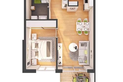 Provisionsfreie 2-Zimmer Neubau-Wohnung mit Balkon (W10)