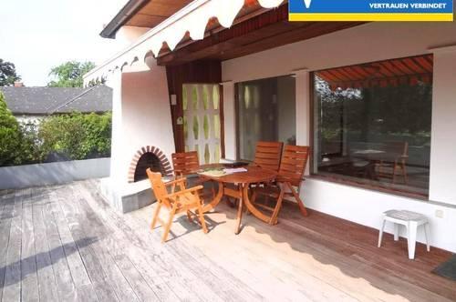 <b>Mietwohnung mit schöner grosser Terrasse in einen Bungalow&lt;b</b>