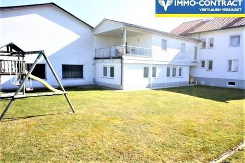<b>Großzügige Wohneinheit - Terrasse, Loggia und Gartenmitbenutzung!</b>