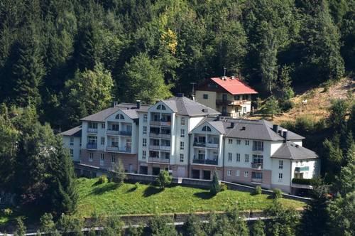 GEMÜTLICHKEIT! TRAUMLAGE IN BAD GASTEIN! Bezaubernde, geförderte 2-Zimmerwohnung mit Balkon! Mit hoher Wohnbeihilfe