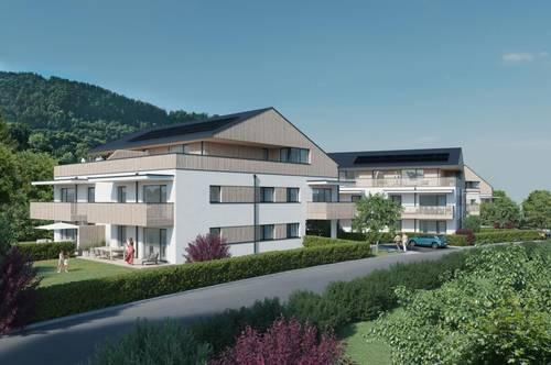 Neubau - 3 Zimmer Wohnung mit toller Aussicht auf den Untersberg