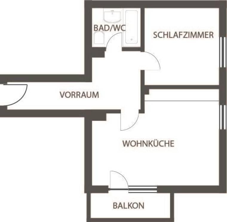 Wohnungsplan Top 5 EG