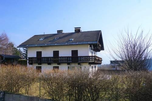 Bauträger aufgepasst! Grundstück mit Altbestand und Wohnrecht