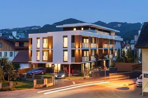 Atemberaubendes Penthouse mit 2 Schlafzimmern über den Dächern von Bad Ischl!