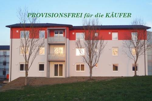 Neubauwohnung im 1. OG, sonnige Ruhelage, Tiefgarage. Provisionsfrei