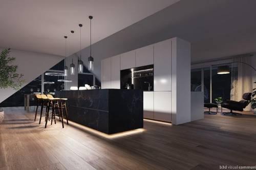 VORVERKAUF SPAZENHOF - Mondäne Penthouse-Residenz mit 170 m² - Provisionsfrei