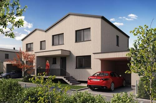 HOLZBAU CHALET SCHLOSSPARK H15 - nachhaltiges Landleben und Homeoffice unter einem Dach - Classic
