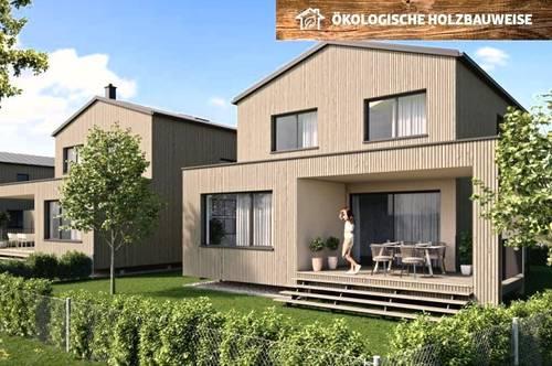 HOLZBAU CHALET SCHLOSSPARK H9 - nachhaltiges Landleben und Homeoffice unter einem Dach - Premium