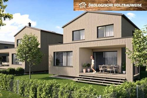 HOLZBAU CHALET SCHLOSSPARK H1 - nachhaltiges Landleben und Homeoffice unter einem Dach