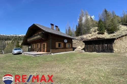 Eigenjagd mit Almflächen, Jagdhaus und Sennerhütte