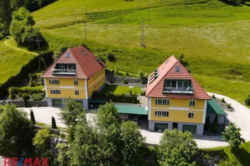 Luxuriöse Ferienwohnungen mitten in der Natur