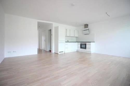 Zentral gelegene 2-Zimmer-Mietwohnung mit Balkon - Küche möbliert