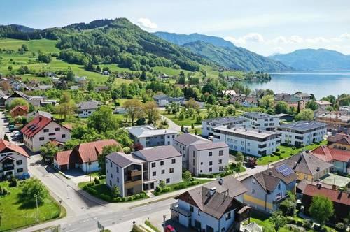 Neu im Angebot - Wohnen am Attersee - sonnige 3-Zimmer-Gartenwohnung