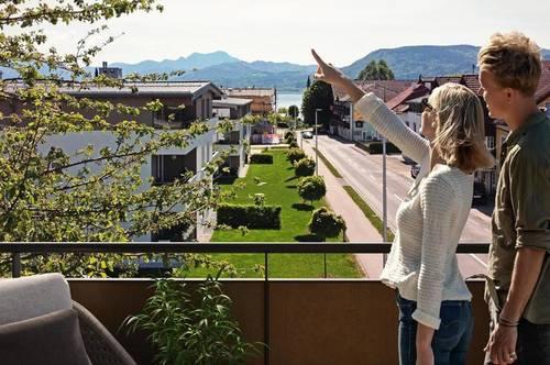 Neu im Angebot - traumhafte Dachgeschoßwohnung mit Ausblick auf den Attersee