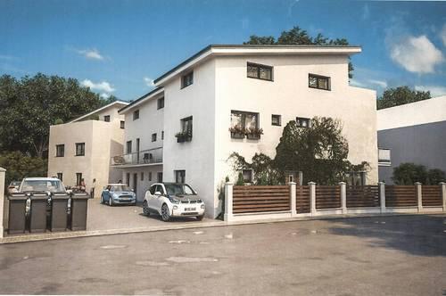 Moderne Wohnhäuser in der Bauphase - Himberg bei Wien (Musterhaus auf den Bildern) Haus 2