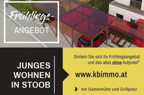 FRÜHLINGSAKTION: Junges Wohnen in Stoob