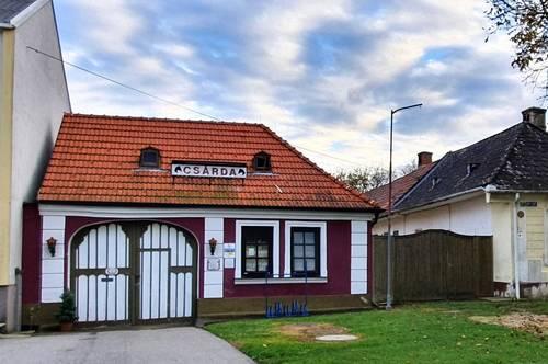 traditionelles burgenländisches Gasthaus mit authentischem Ambiente - zum Wohnen oder Weiterführen