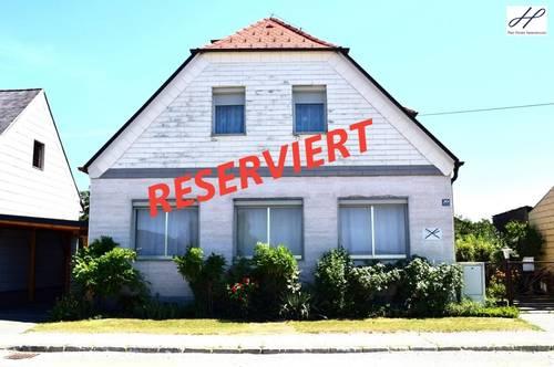 """4 Zimmer Einfamilienhaus in Großpetersdorf mit eigenem Hausbrunnen und Balkon """"RESERVIERT"""""""