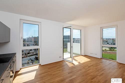 Komfort 3 Zimmer Wohnung mit Balkon - NEUBAU ERSTBEZÜGE mit Pool, Fitnesscenter + Garage am Helmut-Zilk-Park 1100 Wien
