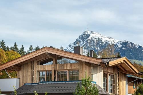 Traumhafte Doppelhaushälften im exklusiven Chalet-Stil