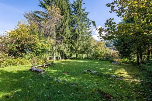Sonniges Grundstück mit Panoramablick in Ruhelage