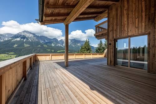 Luxuriöses Penthouse mit direkter Skipistenanbindung