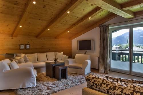 Urgemütliche vollmöblierte Dachgeschosswohnung mit Freitzeitwohnsitz in Reith