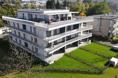 Gartenwohnung - Ebelsberg - TOP 4 - Miete mit 44 m² Terrasse und Garten !!