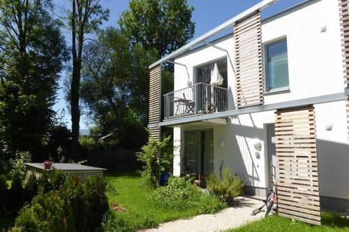 """MIETE """"NEUBAU"""" LIEFERING - Saalachstraße 86: Wunderschöne 4 Zimmer 96 m² """"REIHENHAUS""""/MAISONETTE-WOHNUNG mit 33 m² """"Privatkeller"""" und 200 m² Garten mit Terrasse - Top W 1"""