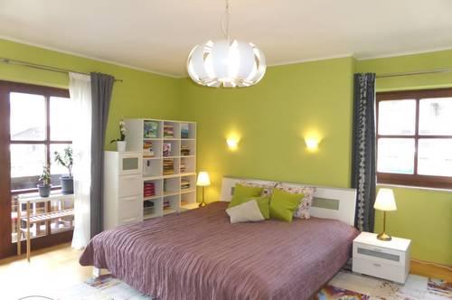 KAUF ORTSKERN GROSSGMAIN: Schöne 75 m² 2-3 Zimmer-Wohnung mit überdachtem 14 m² Balkon - sehr gepflegter Zustand