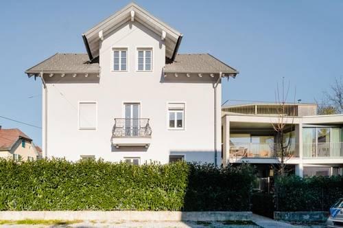 127m² DG Whg. in historischer Gründerzeitvilla mit 80m² Sonnenterrasse