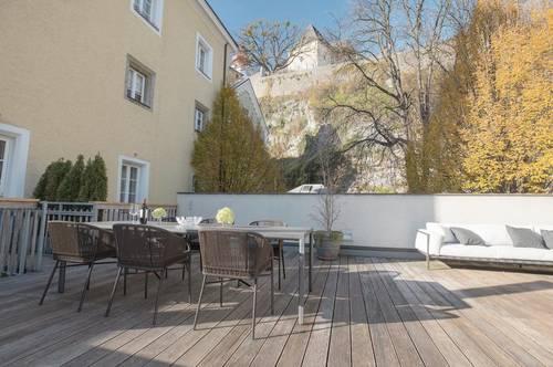 Home & Historie im eigenen Altstadthaus!  Wohnen, Schwimmen und Leben im alten Nonntal
