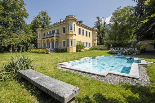 Historisches Anwesen mit Geschichte auf ca. 2.900 m² Grund direkt am Grünland!