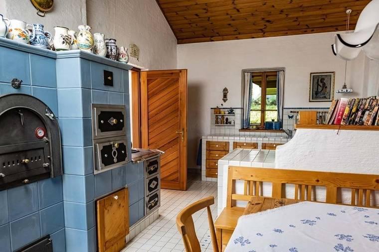 Landhausküche im original toskanischen Stil