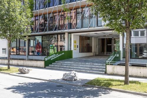 Repräsentabler Schauraum im SOHO Innsbruck