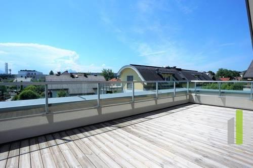 Josefiau: Erstbezug Maisonette 3 Zimmerwohnung mit 2 Terrassen