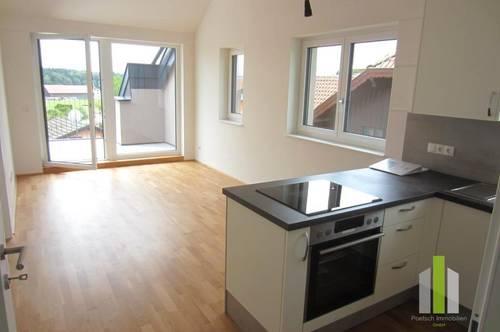 Neuwertige 2 Zi Dachgeschoß-Wohnung mit Terrasse