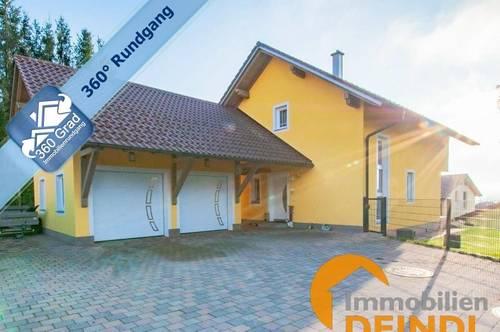 Neuer Preis: Neuwertiges Einfamilienhaus mit Doppelgarage in schöner Siedlungslage von Tarsdorf