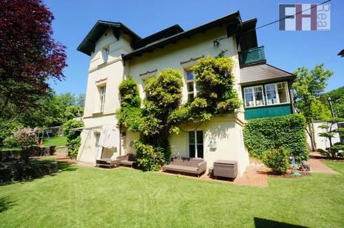 Rarität-Historische Wienerwald Villa in Zentrumsnähe