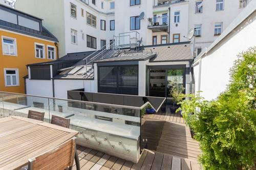 WOHNEN & ARBEITEN - Modern gestaltetes Townhouse mit Terrasse - Hoflage