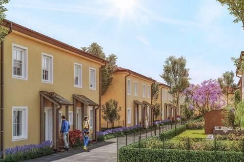 NEUBAU - Schlüsselfertige, exklusive & klimatisierte Doppelhäuser mit Toskana-Flair - MASSIVHAUS!