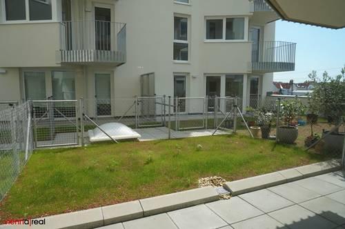 Erstbezug - helle 2 Zimmer Neubau-Wohnung mit Terrasse und Garten