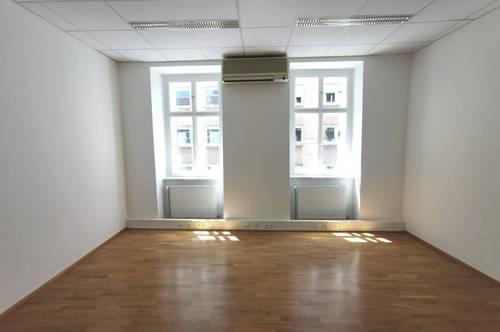 UNBEFRISTET - saniertes 3-Zimmer Büro-Objekt in der Burggasse - KFZ-Abstellpatz optional